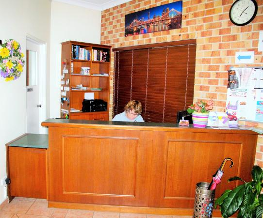 Airport Clayfield Motel : Reception