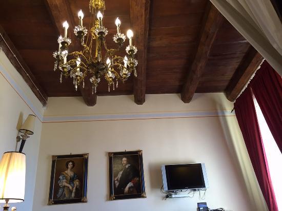 Antichi Feudi Dimora d'Epoca: Suite Sanseverino: soffitto