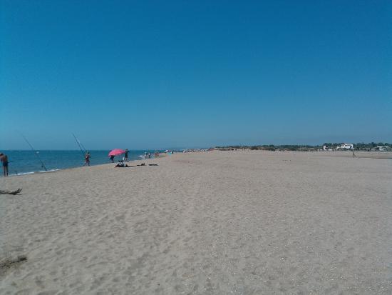 Camping Bleu Marine: la plage