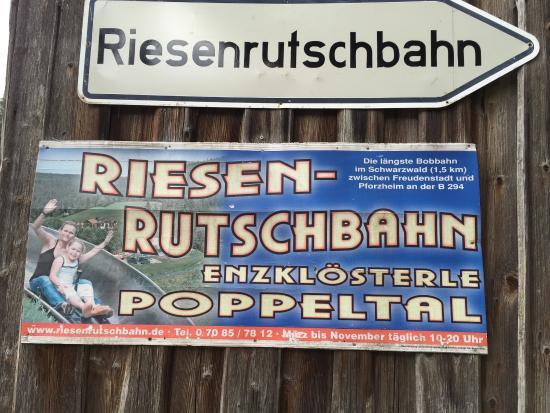 Riesen-Rutschbahn