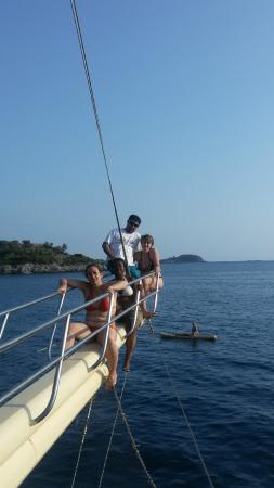Seahorse Diving Centre: on boat