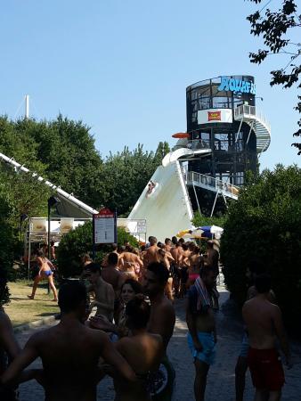 Riccione, Italia: Ad Agosto
