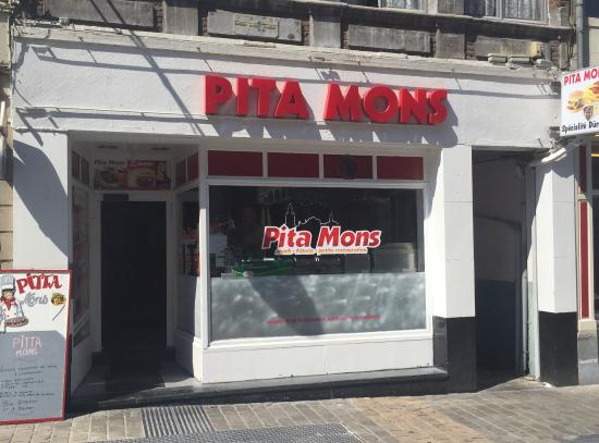 Photo of Mediterranean Restaurant Pita Mons at Rue De Nimy 81, Mons 7000, Belgium