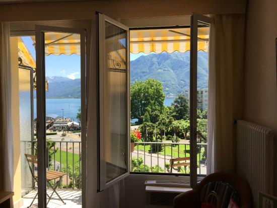 Hotel Garni DU LAC: The room windows