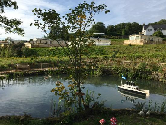 Laggan House Country Park: Dock pond