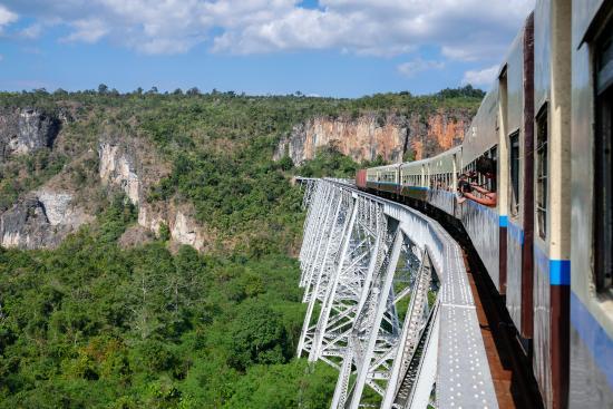 Наунгкио, Мьянма: Goteik viaduct