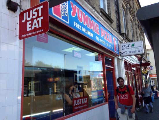 Yummie Pizza Hove 154 Church Rd Menu Prices