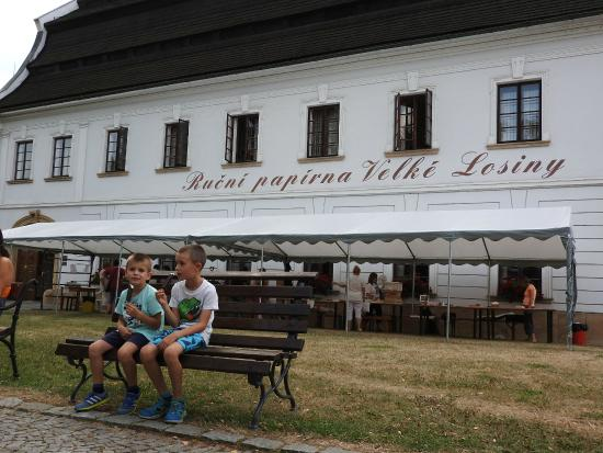 Velke Losiny, República Checa: Front view