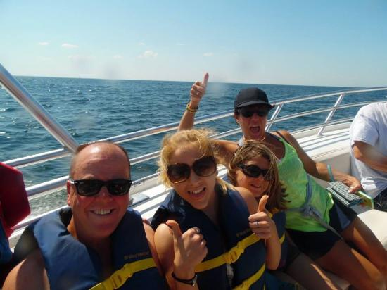 Dennis Parasail: Family-4 adults James Shandell jaki and beth