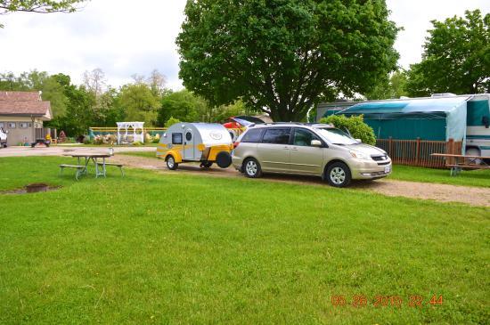Lena KOA : Our camp site
