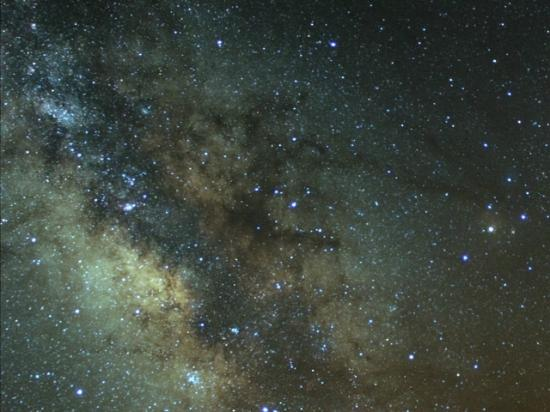 Eldorado, TX: Milky Way Closeup at X Bar Ranch