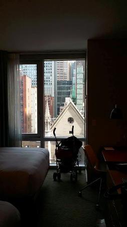 Hyatt Centric Times Square New York: Hotel room