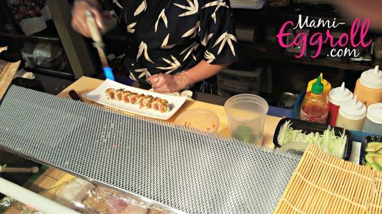 Sushi Yanagi : sushi chef
