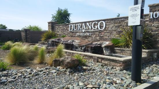 Entry Picture Of Durango Rv Resort Red Bluff Tripadvisor