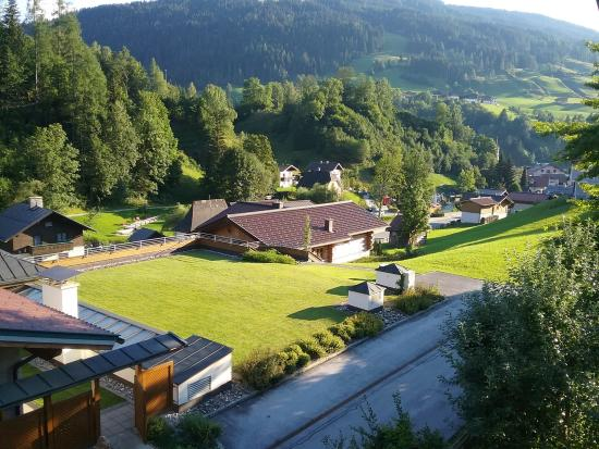 Sportpension Bergblick: View from our room