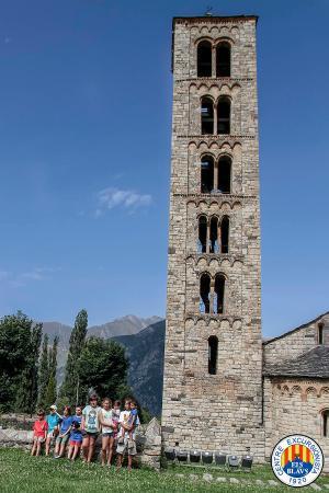 Campanario - Picture of Esglesia de Sant Climent de Taull ...