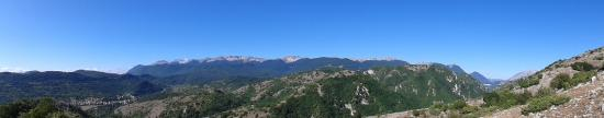 Scontrone, Itálie: Vista dal sito Paleontologico