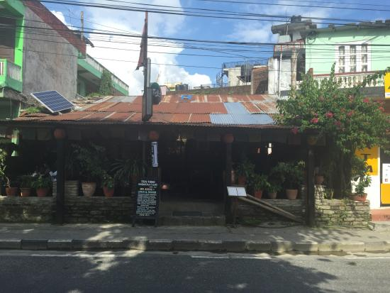 Tea Time Bamboostan Cafe: View from outside
