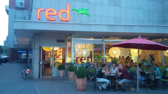 picture of red die gruene kueche heidelberg. Black Bedroom Furniture Sets. Home Design Ideas