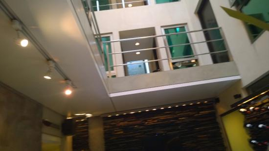 Mansion Vitraux Boutique Hotel: vista desde el desayunador
