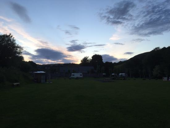 Frongoch, UK: Camping field