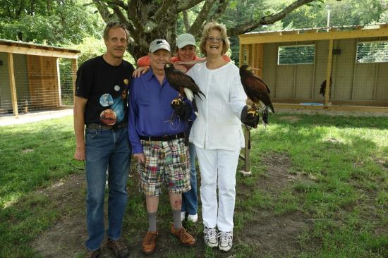 Green Mountain Falconry School : The falconry gang
