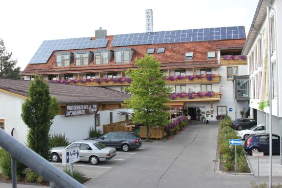 Charming Flair Hotel Am Kamin: Ansicht