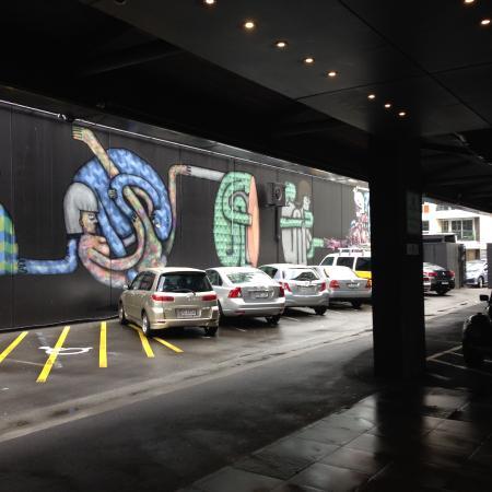Museum Art Hotel Wellington Parking