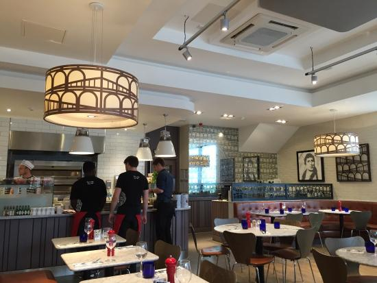 Pizza Express Picture Of Pizza Express Telford Tripadvisor