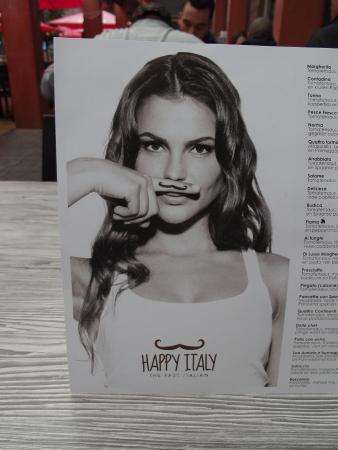menu - Picture of Happy Italy, Eindhoven - TripAdvisor