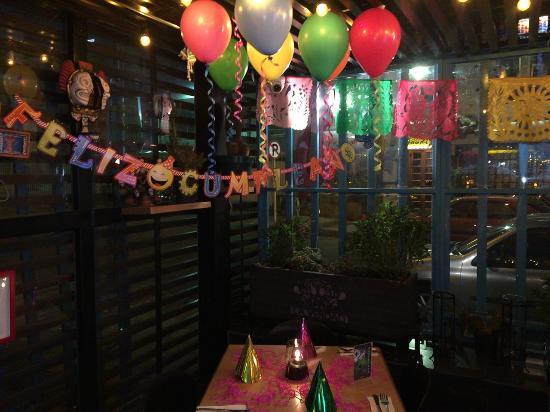 la verdad decoracin birthday decoration