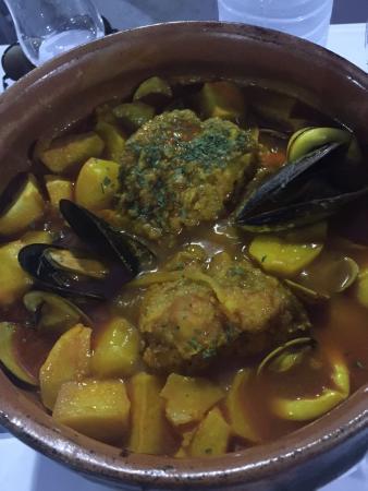 Hostal Restaurante Isleta Del Moro: Cuajadera de pescado,best meal I had in Andalucía. As a matter of fact, I'm scouring the interne