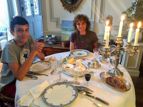 Le Vivier : La cena