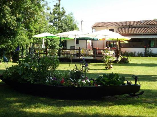 Arcais, Prancis: Auberge de la Venise Verte