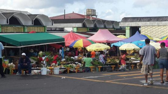 Old Market Square: Produce market