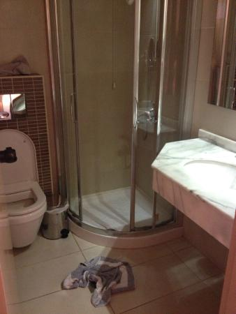 Alia Beach Hotel: bagno