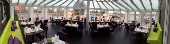 Hotel Nordstern: Restaurant im Wintergarten
