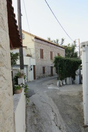 AgioKlima Tradional Houses: the village street near our 'house'