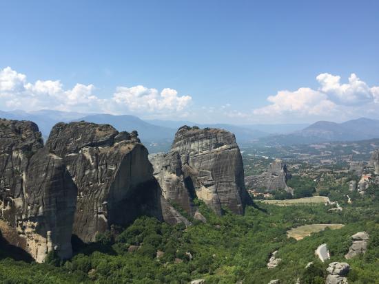 Les météores - Picture of Megalo Meteoro Monastery ...