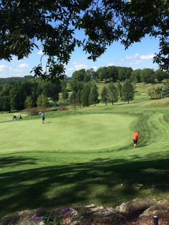 The Lodge at Woodstone Country Club : Beautiful views of golf course