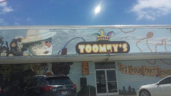 Toomey's Mardi Gras store