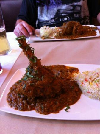 Hatton, UK: Fantastic Dish  Rajastani Lamb off new menu