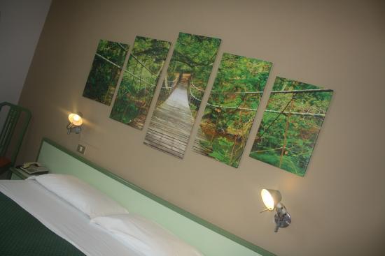 Valbrenta Hotel : camera in foresta