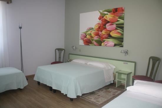Valbrenta Hotel : camera dei tulipani