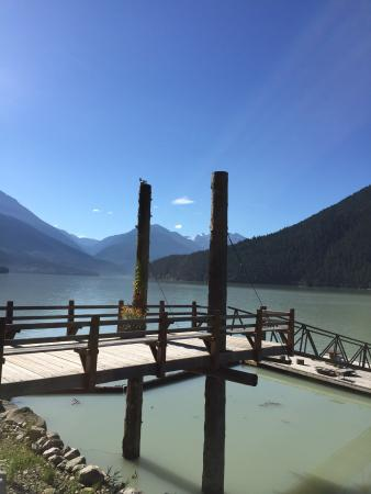 The Cottage B&B on Lillooet Lake : Beautiful B&B
