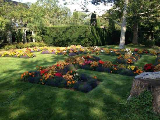 Flower Bed Picture Of Annapolis Royal Historic Gardens