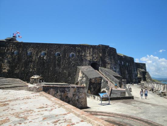 San Juan National Historic Site: At El Morro