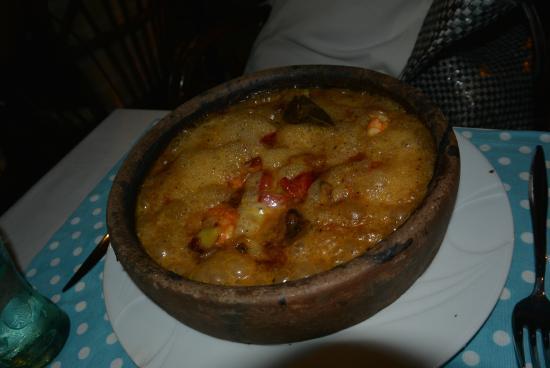 Gul Restaurant: Fish and shrimps casserole