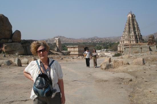Group of Monuments at Hampi: Панорама.