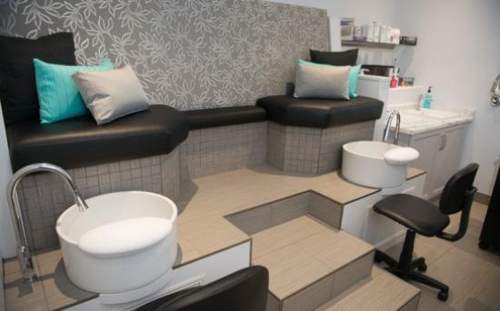 Blenheim, Canadá: Manicure and Pedicure Room